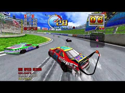 Daytona USA 2 - Beginner Course, Hornet Classic (4k 60 fps)