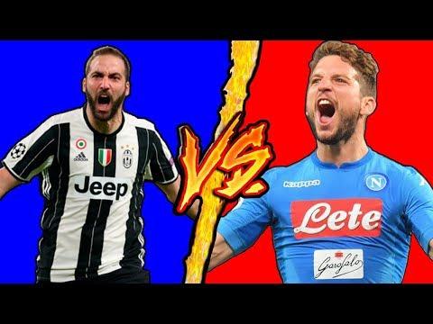 Higuain VS Mertens (Juventus VS Napoli) - Battaglia Rap Epica - Manuel Aski feat. Amendola Brothers