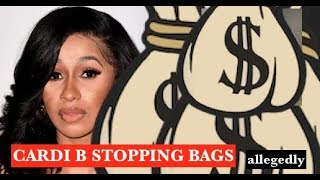 Cardi B STOPPING Make Up Artists BAG also Complains About Being Famous Allegedly