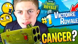 LE QUADRILANCEUR ME CARRY POUR LE TOP 1 SUR FORTNITE BATTLE ROYALE ??!