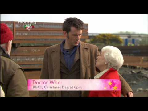 June Whitfield on This Morning promoting Doctor Who