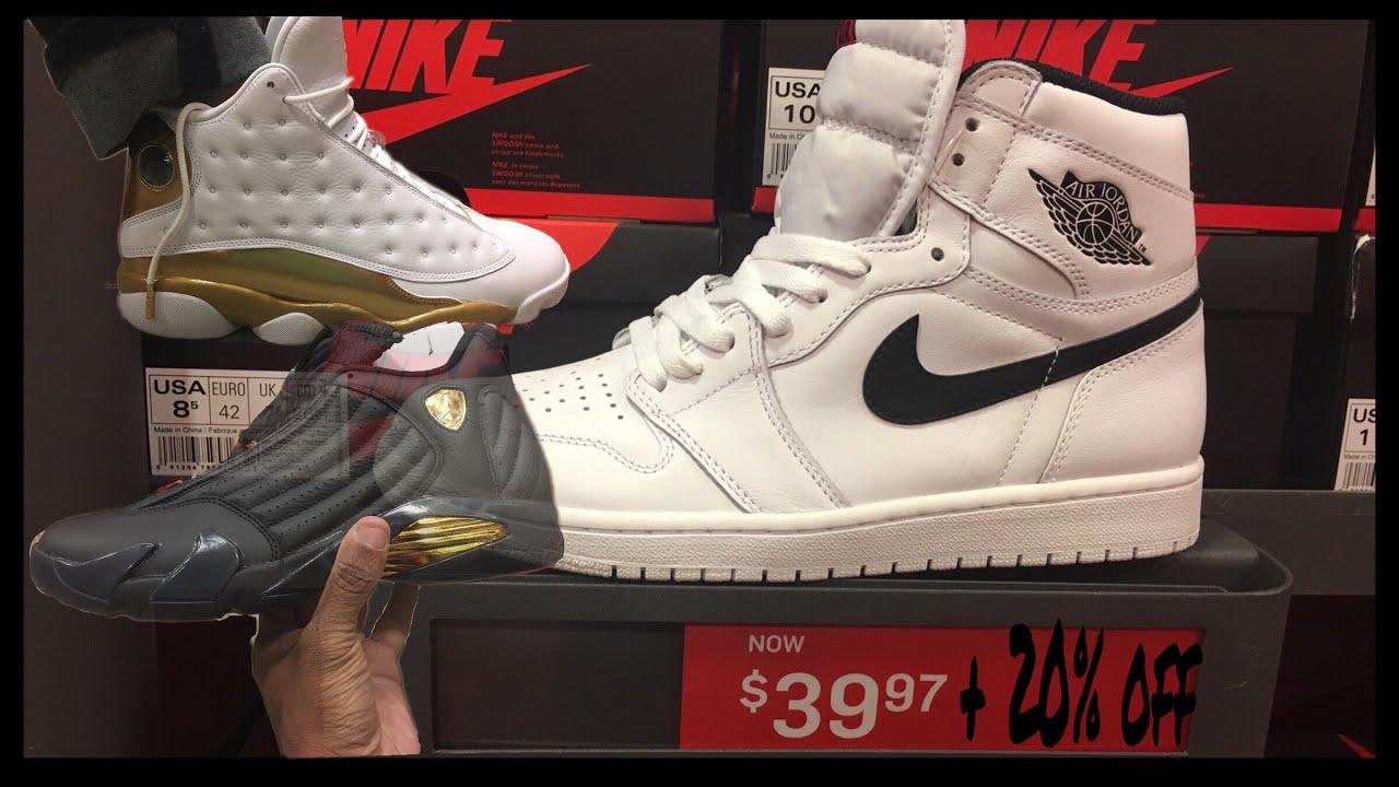 5e0c69947e Nike Outlet Tampa, Fl | $39 Jordan 1's Ying & Yang - YouTube