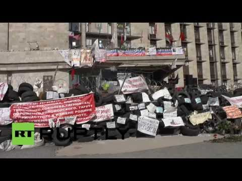 Ukraine: Donetsk rallies in favour of May 11 referendum
