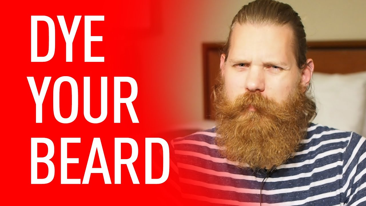 Dye Your Beard | Eric Bandholz - YouTube