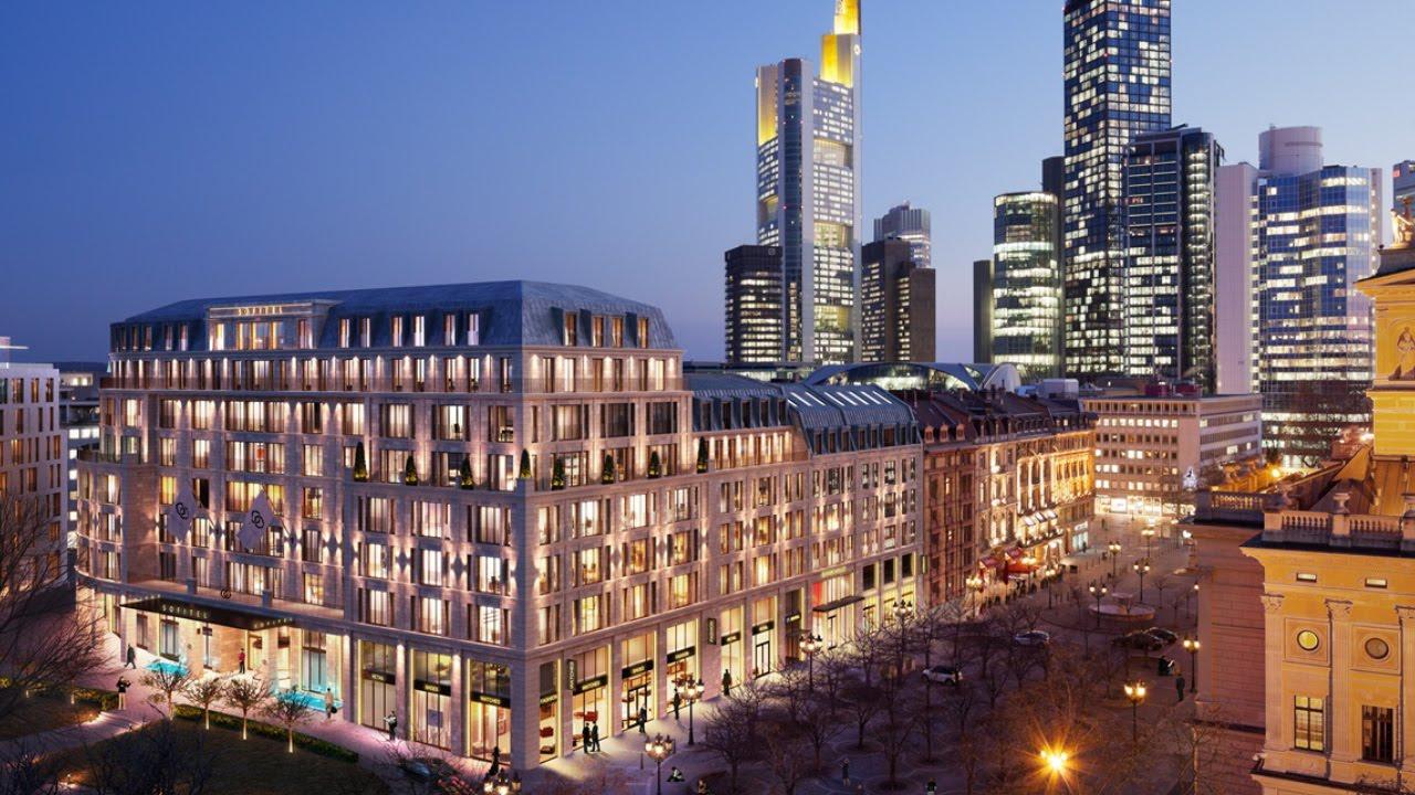 neues luxus hotel in frankfurt youtube. Black Bedroom Furniture Sets. Home Design Ideas