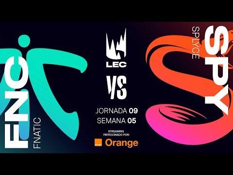 FNATIC VS SPLYCE | LEC | Spring Split [2019] League of Legends thumbnail