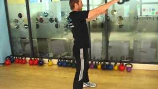Kettlebell exercises, linking kettlebell exercises with swings