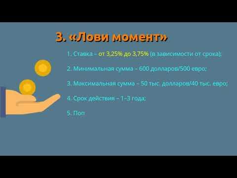 5 вкладов для физических лиц от Совкомбанка