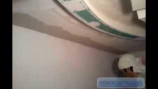 Выравнивание угла на потолке1 .mp4(Это видео является продолжением статьи