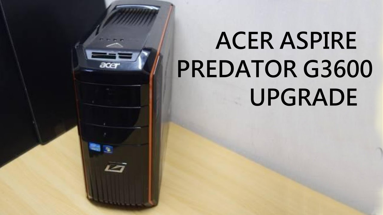 Acer Predator G3600 Windows Vista 32-BIT