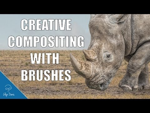 PHOTOSHOP TUTORIAL: Creative Compositing with Brushes #46