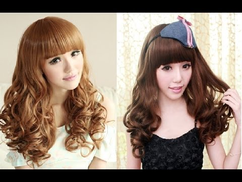 korean style curly hair curly hairstyle korean 4551