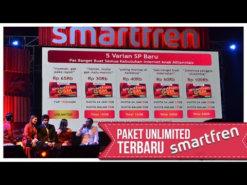4G Unlimited Smartfren Cuma 65 Ribu Mp3