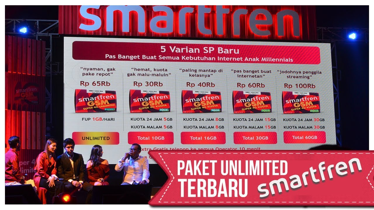 4g Unlimited Smartfren Cuma 65 Ribu Youtube