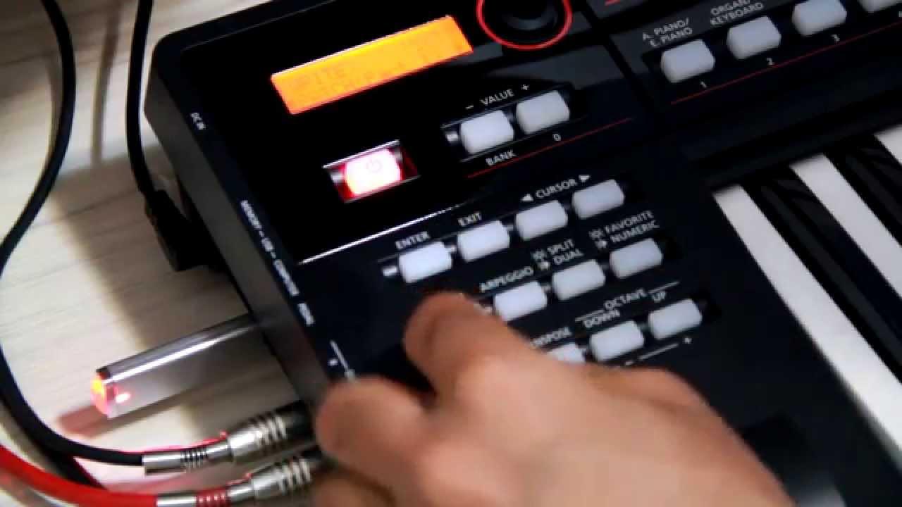 Tutorial Roland XPS-10 - Modo PERFORM / SAMPLE / Split & MFX