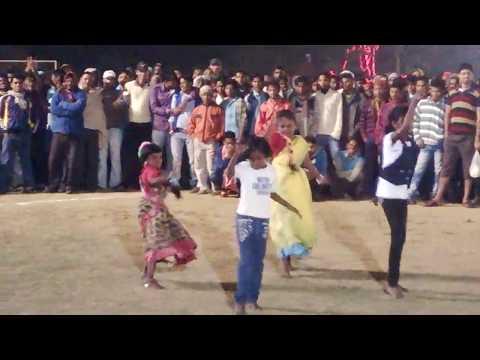 santali dance in Palashdiha night football || ft_ Dangua Mone Do(Santali Song)