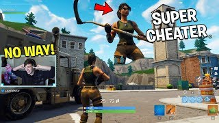 SUPER CHEATERS vs Fortnite.. (Somebody please stop these hackers)