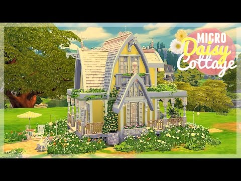 Sims 4 house build micro daisy cottage youtube for What is needed to build a house