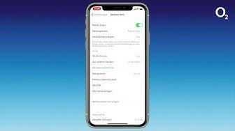 WLAN-Telefonie und VoLTE von o2 auf einem iPhone aktivieren
