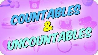 10 dk'da Countable Nouns & Uncountable Nouns (Sayılabilen & Sayılamayan İsimler)