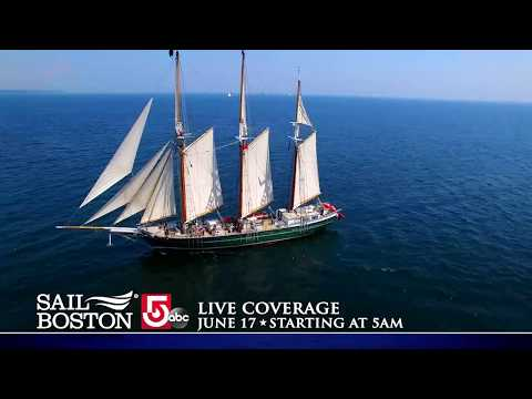 Sail Boston's Grand Parade of Sail Live on WCVB Saturday, June 17, 2017