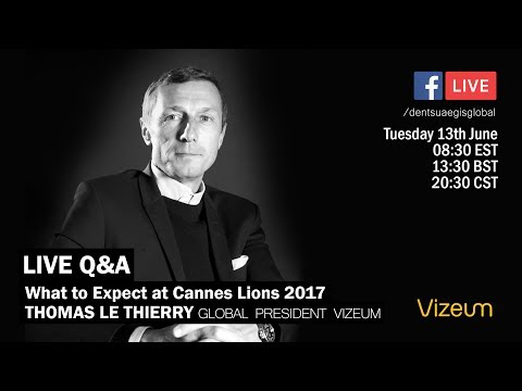 #DANLive Q&A: Vizeum on what to expect at Cannes Lions 2017
