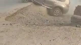 Turn accident