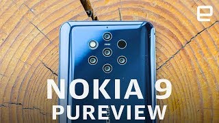 Nokia 9 PureView Hands-On at MWC 2019: Five Cameras in a Phone