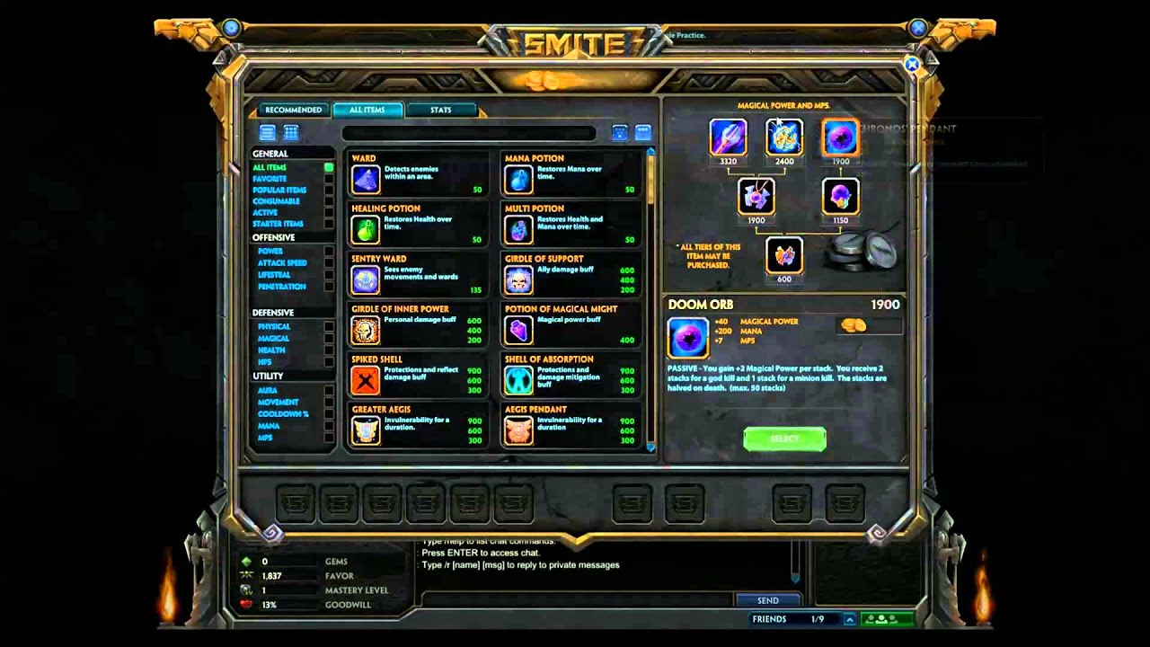 Best Neith Build Smite