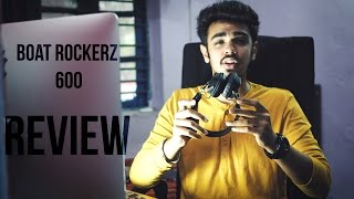 boAt Rockerz 600 Bluetooth Headphones | Review | 4K