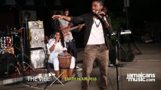 The Vibe performs at #EarthHourJA 2016