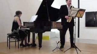 2010 04 11 La plus que lente (Claude Debussy) Olivier Gomes & Marie-José Keijzers; CBK