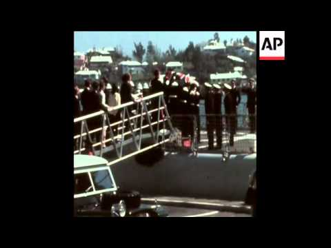 SYND 17-3-73 FUNERAL OF ASSASSINATED GOVERNOR, SIR RICHARD SHARPLES