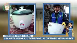 MUNICIPALIDAD DISTRITAL DE HUALMAY COMO PARTE DEL PROGRAMA DE SEGREGACIÓN
