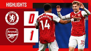 Highlights  Chelsea Vs Arsenal 0-1  Smith Rowe  Premier League