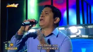 Ignacio Ondoy sings Sometimes When We Touch on TNT