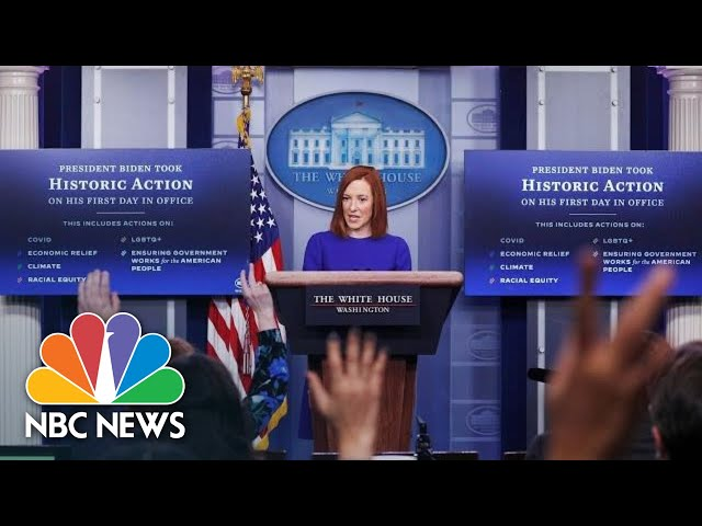 White House Holds Press Briefing: February 1 | NBC News