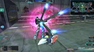 Gundam Online  FAZZの連装ミサイルポッド(榴弾)をぶっ放すだけの簡単なお仕事です ガンダムオンライン