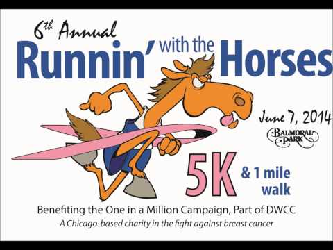 Runnin' With The Horses Run / Walk radio commercial - Balmoral Park 2014