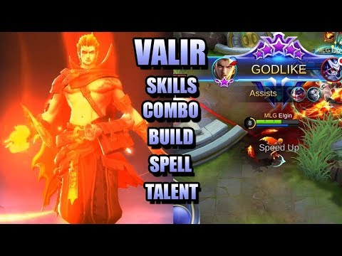 INTRODUCTION TO VALIR'S SKILL, BUILD, SPELL AND COMBO - REVAMPED VALIR GUIDE