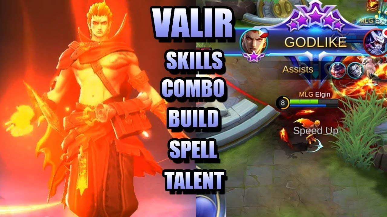 Best Valir build 20  Items, Emblems & Strategy [Mobile Legends ...