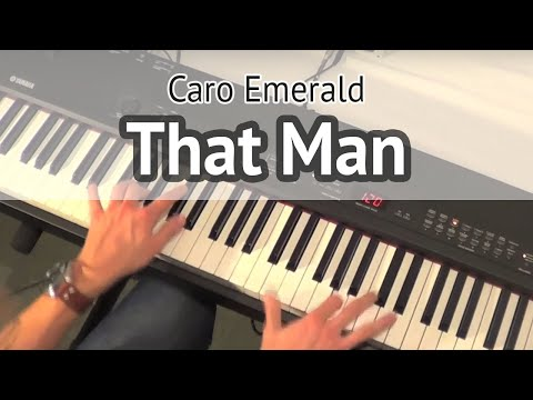 Caro Emerald - That Man (piano version cover Coverkeys)
