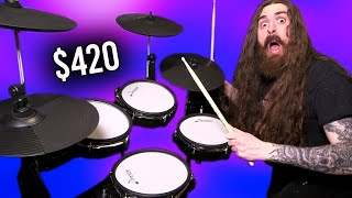 This Electronic Drum Kit is CHEAP!