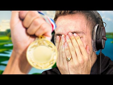 THEY STOLE MY MEDAL...