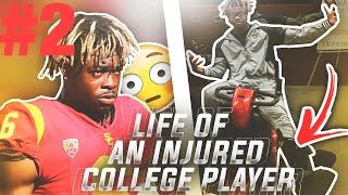 Life of A USC Injured Football Player Game-day vs Colorado Vlog ✔️