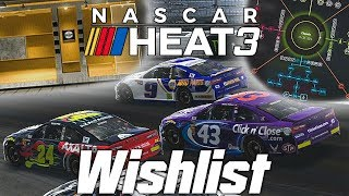 NASCAR Heat 3   My Wishlist and Discussion