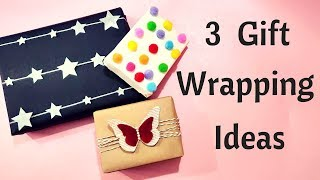 D.I.Y. Easy Gift Wrapping Ideas With Minimum Supplies