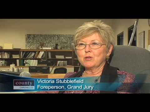 County Chronicles - Grand Jury Foreperson