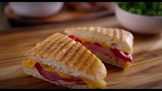 Black Forest Ham & Roasted Red Pepper Panini