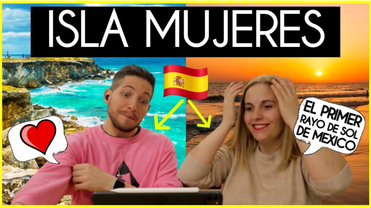 ESPAÑOLES CONOCEN ISLA MUJERES POR 1º VEZ ¿QUÉ HACER en ISLA MUJERES? 🇲🇽 Mariel de Viaje